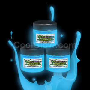 Glominex Glow Paint 1 oz Jar - Blue
